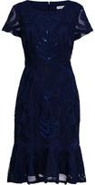 Gina Bacconi Liori Embroidered Dress