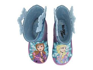 Western Chief Frozen Fearless Sisters Rain Boot (Toddler/Little Kid/Big Kid) (Turquoise) Girls Shoes