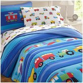 Olive Kids Trains, Planes, Trucks Comforter Set-Blue-Twin