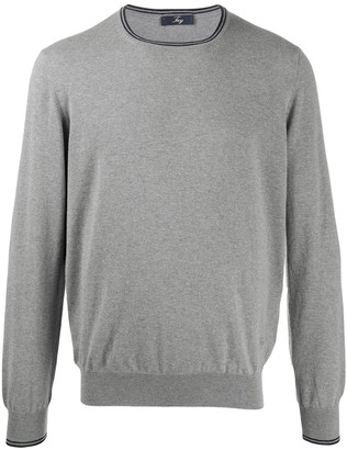 Fay Regular-Fit Crew-Neck Pullover