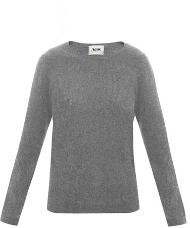 Acne Rakel angora sweater