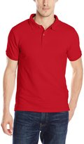 Izod Uniform Men's Short Sleeve Pique Polo