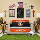 Kohl's Cincinnati Bengals Quilted Loveseat Cover