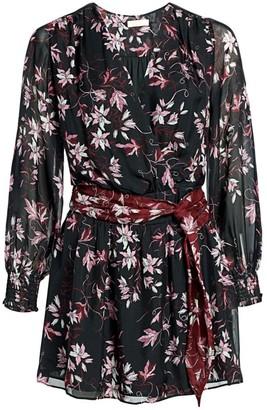 Ramy Brook Randi Floral Silk Dress