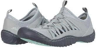 JBU Evergreen (Light Grey/Aqua) Women's Shoes