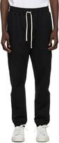Thumbnail for your product : Bather Black Cotton Sweatpants