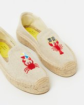 Soludos Mary Matson x Lobster and Crab Platforms