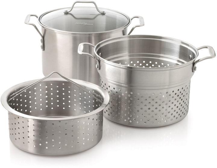 Calphalon Simply 3-pc. 8-qt. Stainless Steel Multi Pot Set