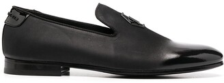 Philipp Plein Moccasin Crystal Loafers