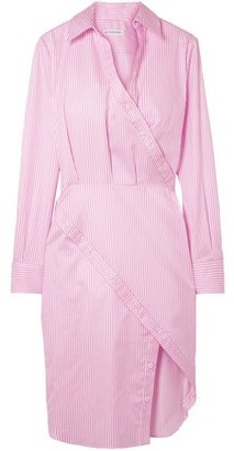 Altuzarra Monday Striped Cotton-twill Shirt Dress