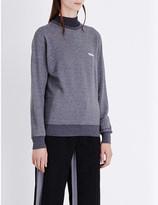 Undercover Shakespeare moon-print cotton-jersey sweatshirt