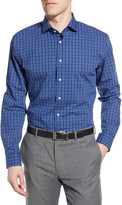 Nordstrom Tech-Smart Trim Fit Check Dress Shirt