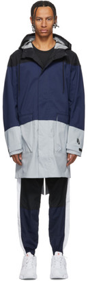 Nike Black and Navy NRG Parka