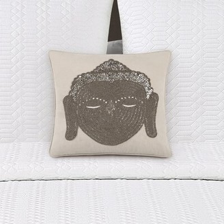 Buddha Head Decorative Throw Pillow Echelon Home