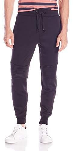 Akademiks Men's Turbo Ponte Moto Pants