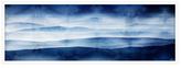 Parvez Taj Blue Mountains by Parvez (Shadow Box Framed)