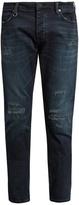 Neuw Lou distressed slim-leg jeans