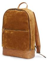Frye Chris Suede Backpack, Sand