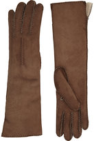 Barneys New York WOMEN'S SHEARLING-LINED LONG GLOVES