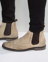 Base London Boxley Suede Chelsea Boots