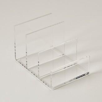 Indigo Paper Acrylic Desk File Sorter