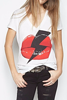 Lauren Moshi Niya Lightening Bolt Shirt