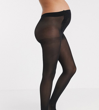 ASOS DESIGN Maternity new improved fit 50 denier black tights