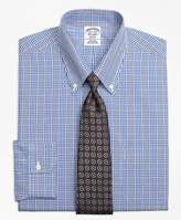 Brooks Brothers Non-Iron Regent Fit Glen Plaid Dress Shirt