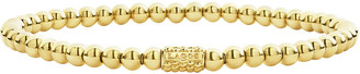 Lagos 4mm 18K Gold Caviar Ball Bracelet