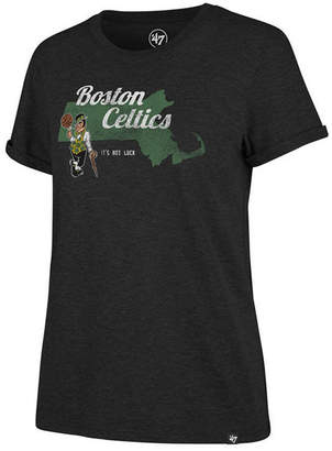 '47 Women Boston Celtics Local Match Tri-Blend T-Shirt