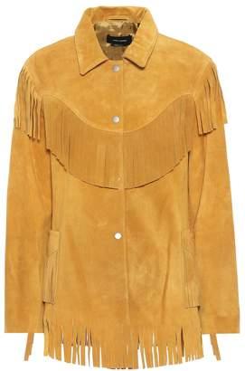 Isabel Marant Abel fringed suede jacket
