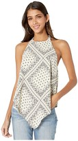 Bishop + Young Odessa Halter Top (Budapest Print) Women's Clothing