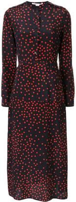 Stella McCartney dotted tie-waist midi dress