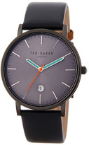 Ted Baker Men's Leather Strap Watch