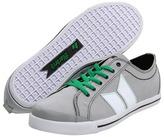 Macbeth Eliot Vegan (Medium Grey/White/Green/Canvas) - Footwear
