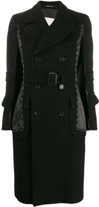 Maison Margiela Stitched Double-Breasted Coat