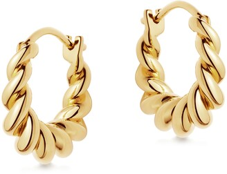 Missoma Mini Tidal Hoop Earrings