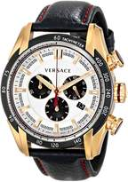 Versace Men's VDB04 0014 V-Ray Analog Display Swiss Chronograph Watch