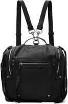 McQ Black Convertible Box Backpack