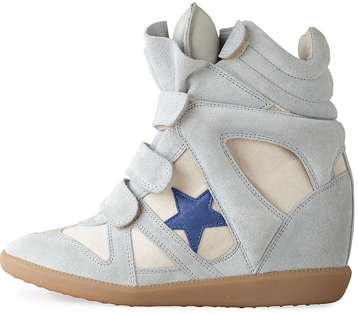 Isabel Marant Bayley High-Top Star Sneaker