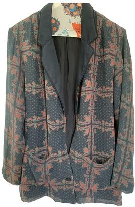 Heimstone Black Silk Jacket for Women