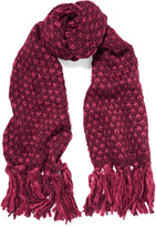 Karl Lagerfeld Knitted scarf