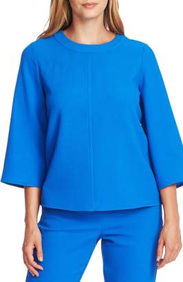 Vince Camuto Bell Sleeve Parisian Crepe Top