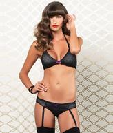 Leg Avenue Halter Bra And Panty Set Lingerie - Women's