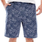 THE FOUNDRY SUPPLY CO. The Foundry Supply Co. Printed Flat-Front Shorts - Big & Tall