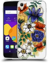 Head Case Designs Watercoloured Flowers Soft Gel Case for