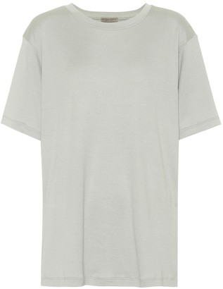 Bottega Veneta Silk and cotton T-shirt
