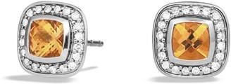David Yurman Petite Albion Full Pave Earrings