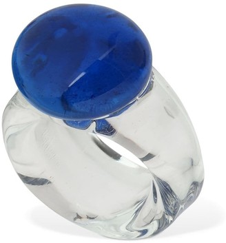 Maryam Nassir Zadeh Circle Glass Ring