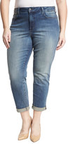 NYDJ Plus Sylvia Relaxed Boyfriend Jeans, Blue, Plus Size